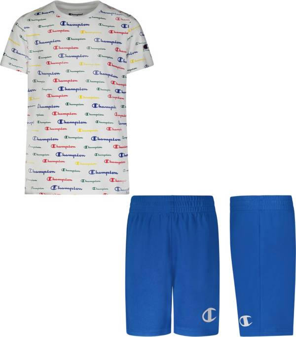 Champion Toddler Boys' Script T-Shirt and Shorts Set product image