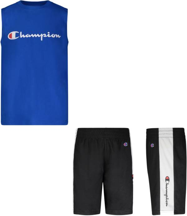 Champion Little Boys' Muscle Tank Top and Shorts Set product image