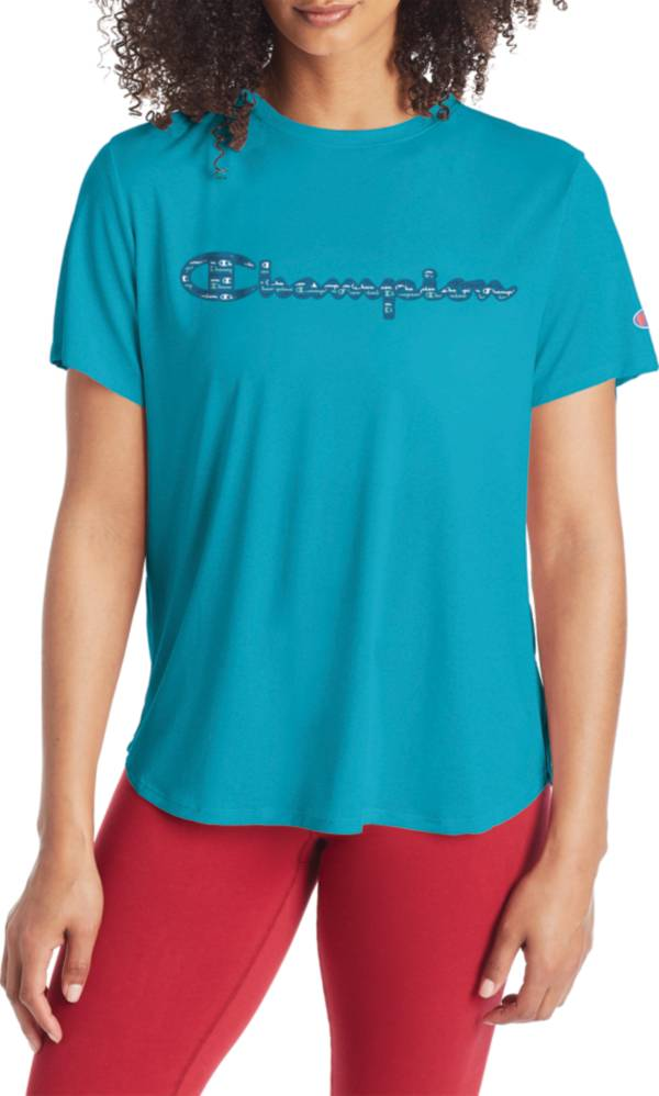 Champion Women's Boyfriend Chest Graphic T-Shirt product image