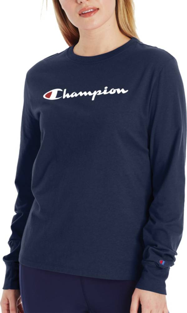 Champion Women's Classic Long Sleeve T-Shirt product image