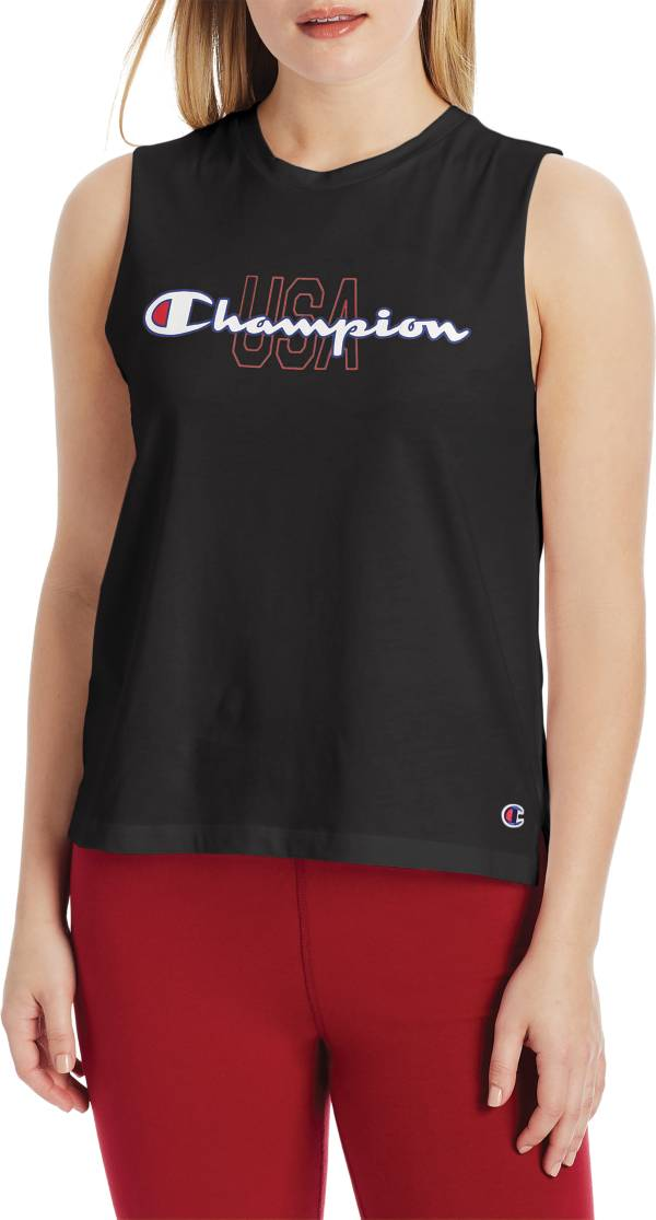 Champion Women's USA Graphic Muscle Tank Top product image