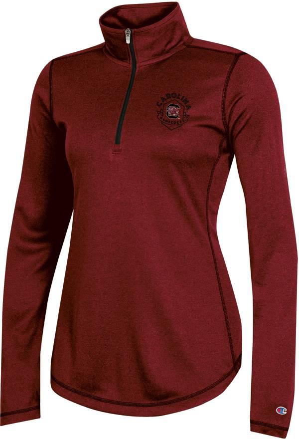 Champion Women's South Carolina Gamecocks Garnet Quarter-Zip Performance Shirt product image