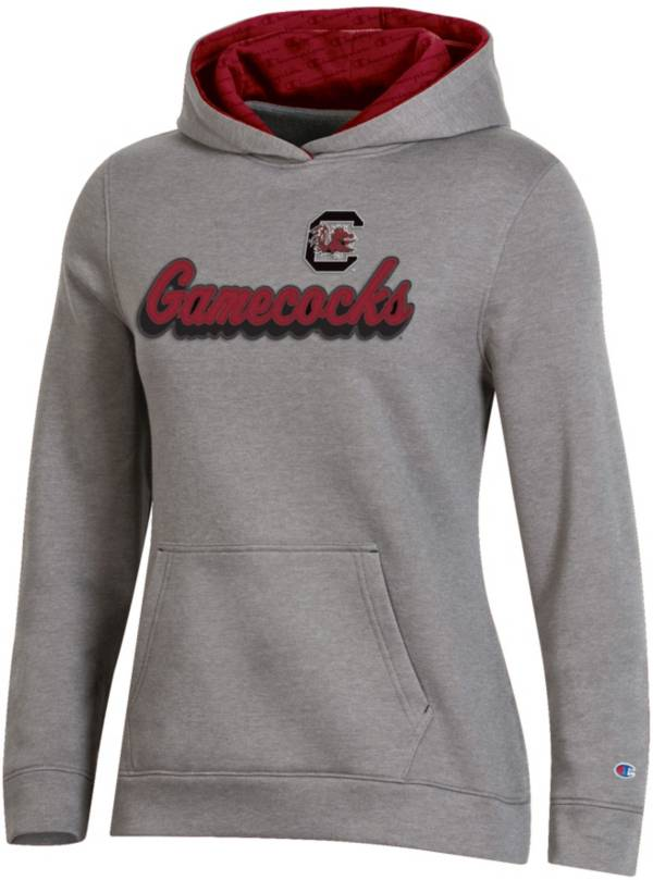 Champion Women's South Carolina Gamecocks Grey Pullover Hoodie product image