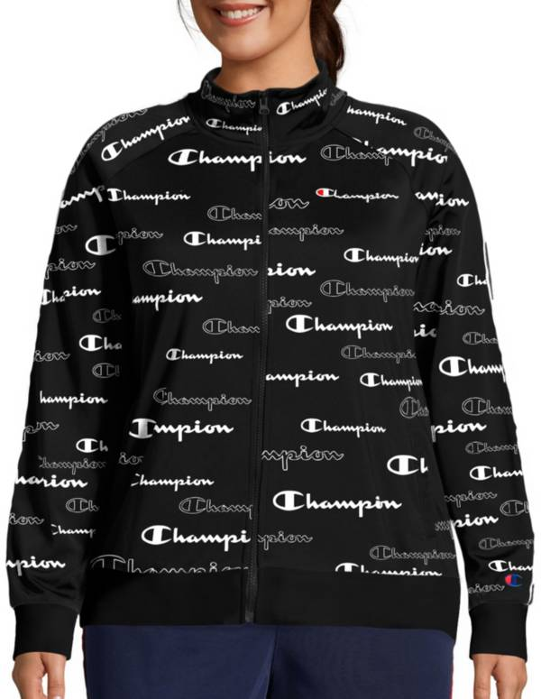 Champion Women's Plus Track Print Jacket product image