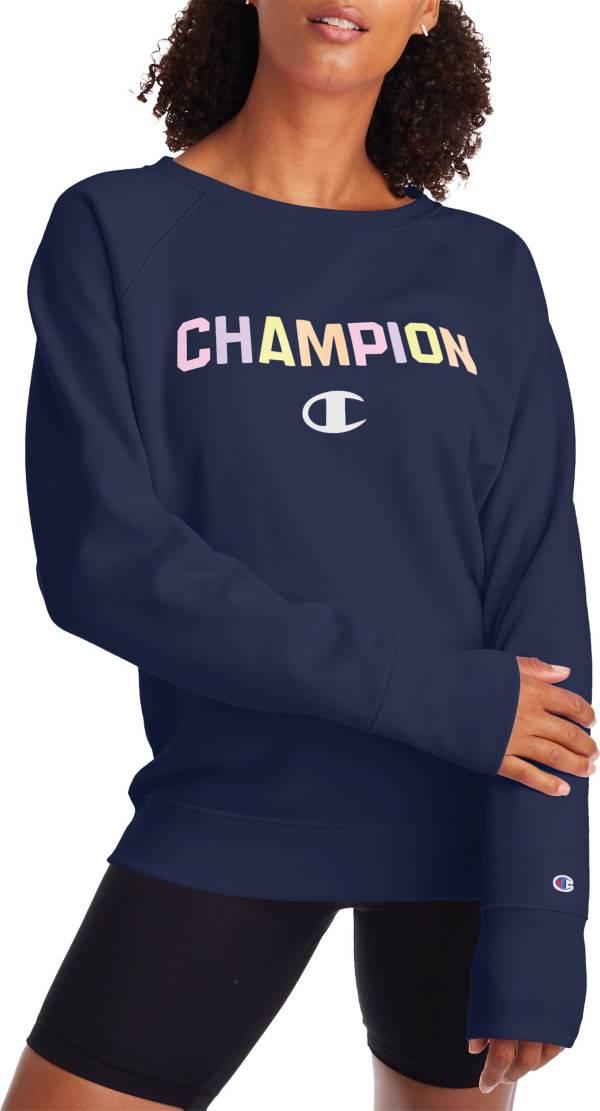 Champion Women's Powerblend Boyfriend Crew Pullover product image