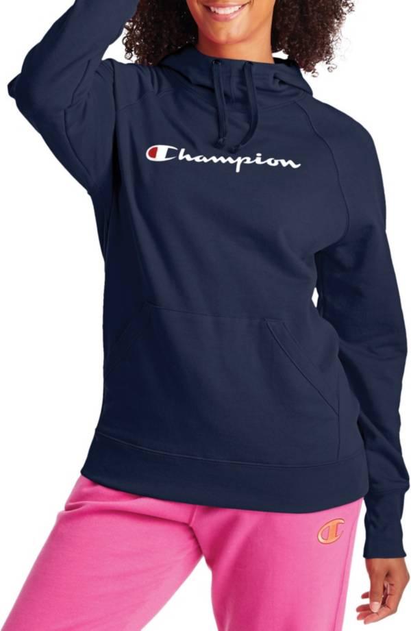 Champion Women's Script Logo Powerblend Fleece Hoodie product image