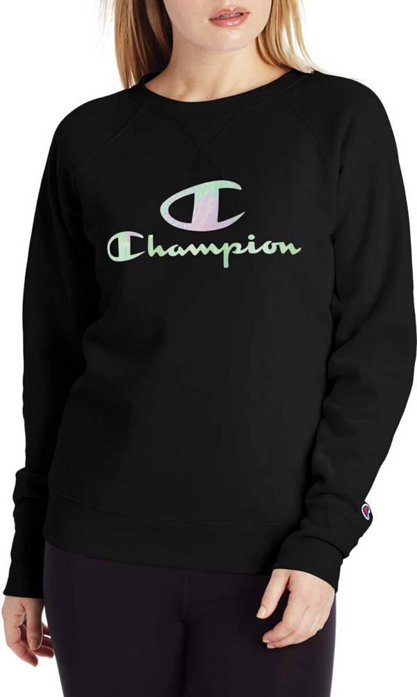 Champion Women's Powerblend Graphic Crewneck Sweatshirt product image