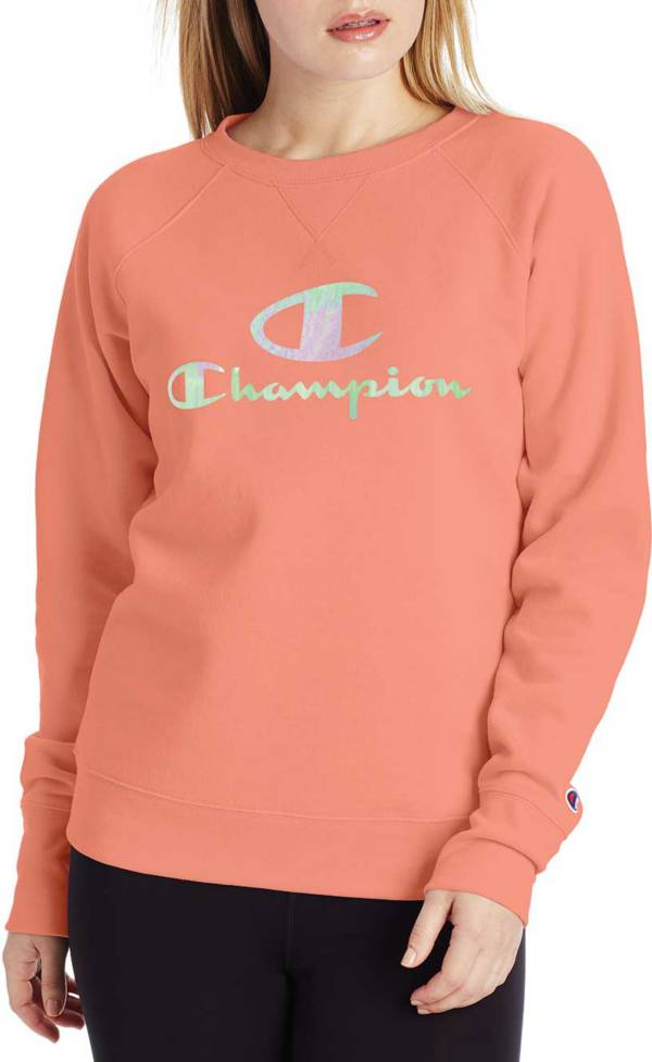 Champion Women's Powerblend Graphic Crewneck Sweatshirt product image