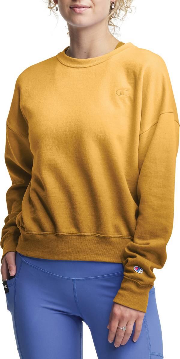 Champion Women's Powerblend Oversized Ombre Crewneck Sweatshirt product image