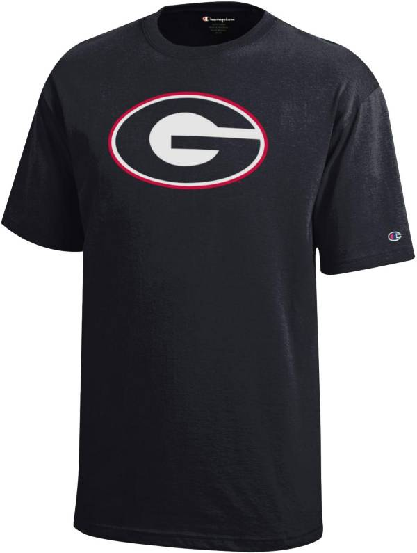 Champion Youth Georgia Bulldogs Powerblend Black T-Shirt product image
