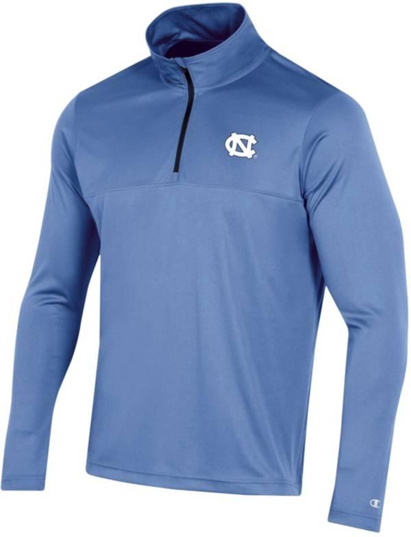 Champion Youth North Carolina Tar Heels Carolina Blue Quarter-Zip Performance Shirt product image