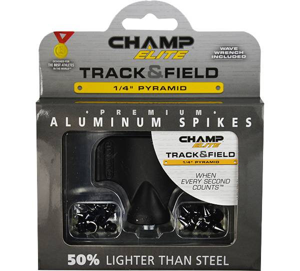 "CHAMP Elite Track & Field 1/4"" Aluminum Pyramid Replacement Spikes product image"