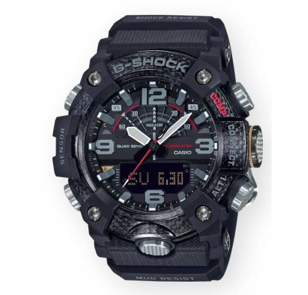 Casio Men's G-Shock Mudmaster Carbon Activity Tracking Watch product image