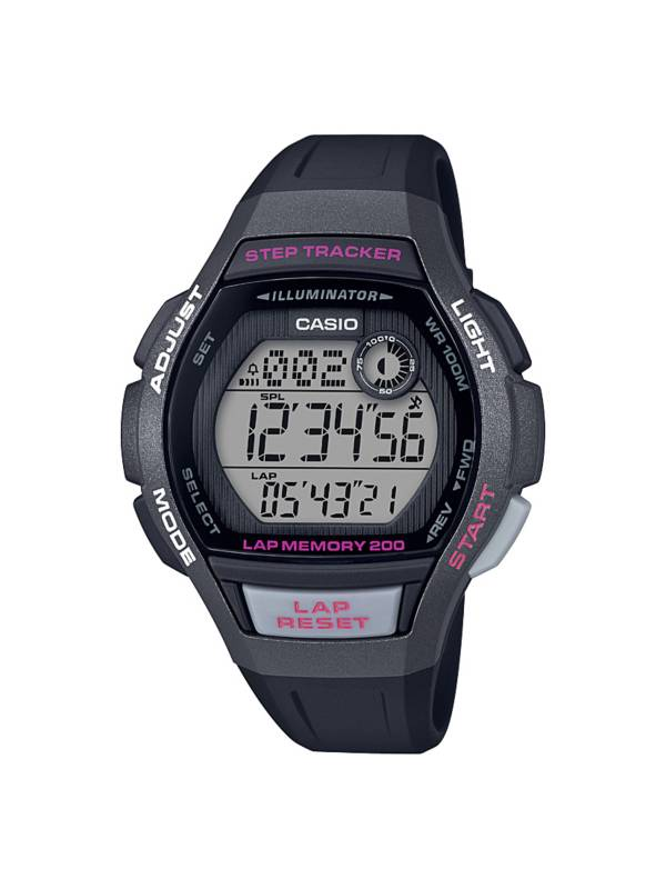 Casio Women's 200-Lap Step Tracker Watch product image