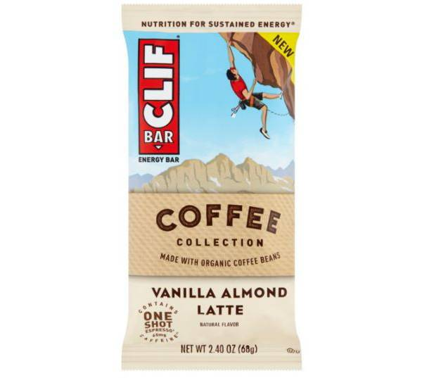 Clif Bar Coffee Collection Vanilla Almond Latte product image