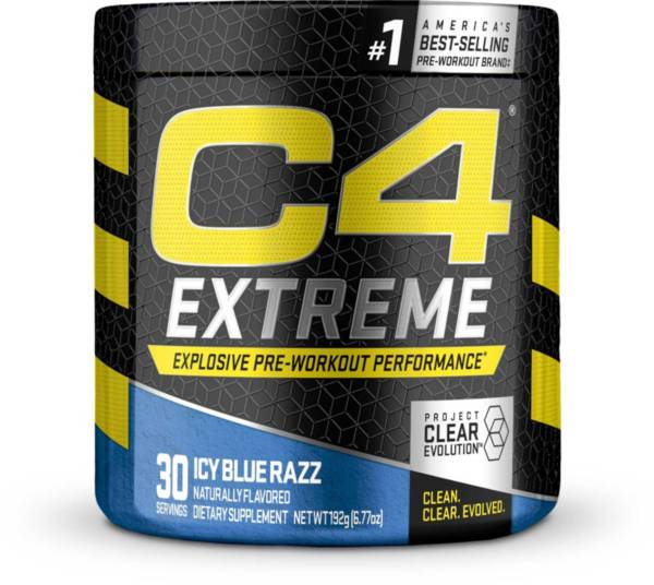 Cellucor C4 Extreme Pre-Workout Icy Blue Razz 30 Servings product image