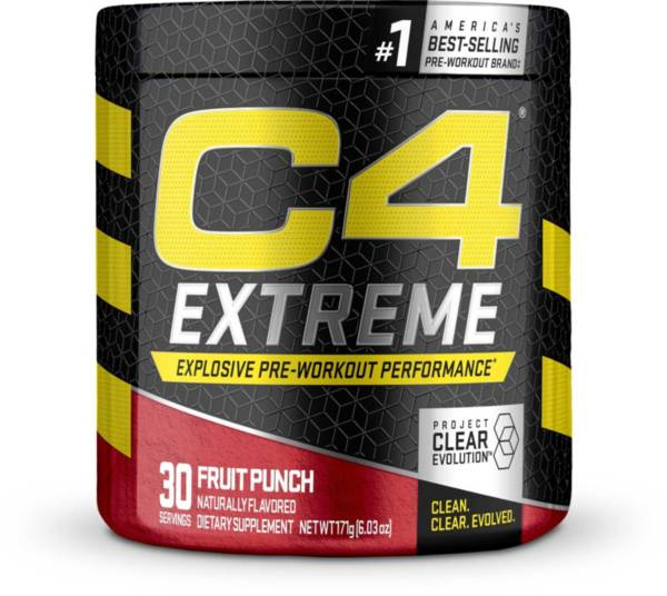 Cellucor C4 Extreme Pre-Workout Fruit Punch 30 Servings product image