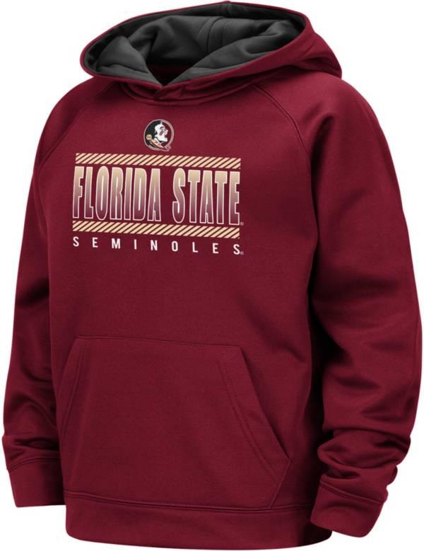 Colosseum Boys' Florida State Seminoles Garnet Raglan Pullover Hoodie product image