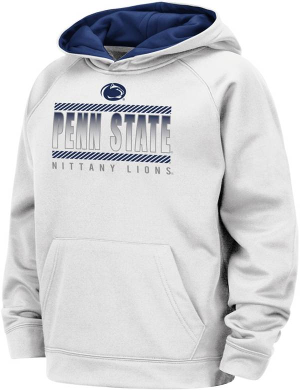 Colosseum Boys' Penn State Nittany Lions Raglan Pullover White Hoodie product image