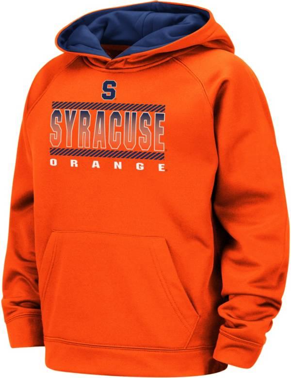 Colosseum Boys' Syracuse Orange Orange Raglan Pullover Hoodie product image