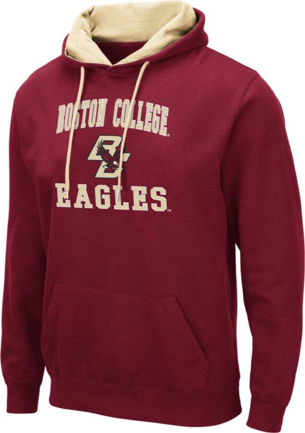 Colosseum Men's Boston College Eagles Maroon Pullover Hoodie product image