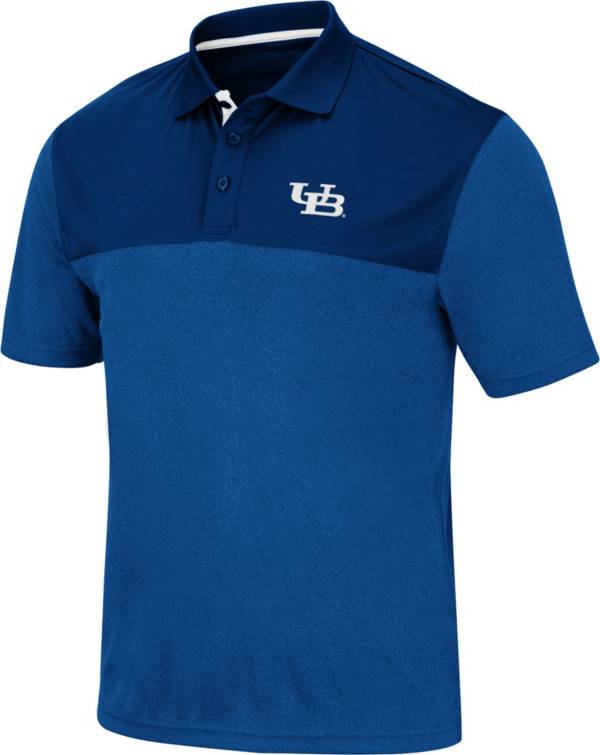 Colosseum Men's Buffalo Bulls Blue Links Polo product image