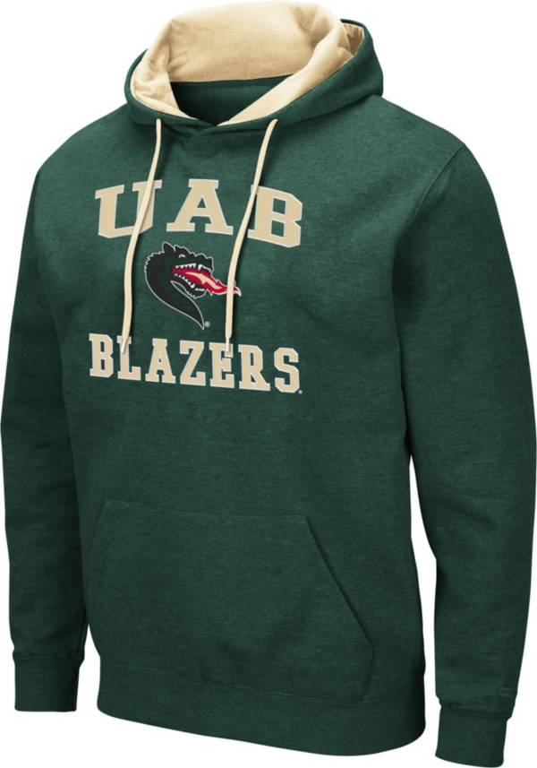 Colosseum Men's UAB Blazers Green Pullover Hoodie product image