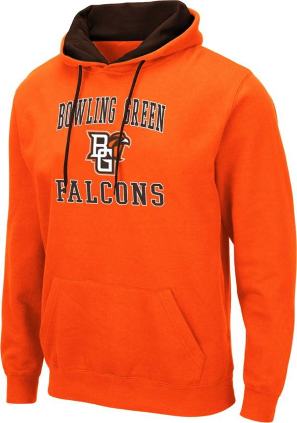 Colosseum Men's Bowling Green Falcons Orange Pullover Hoodie product image