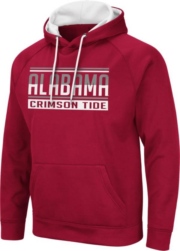 Colosseum Men's Alabama Crimson Tide Crimson Pullover Hoodie product image