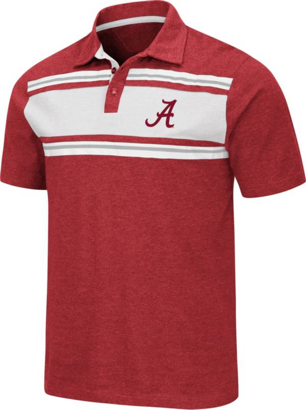 Colosseum Men's Alabama Crimson Tide Crimson Doppelganger Polo product image