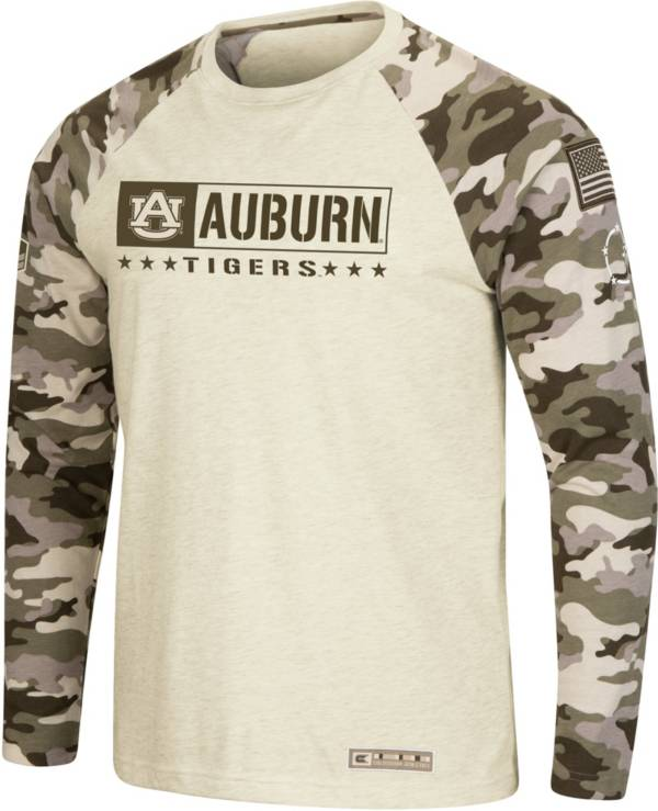 Colosseum Men's Auburn Tigers Camo OHT Long Sleeve Shirt product image