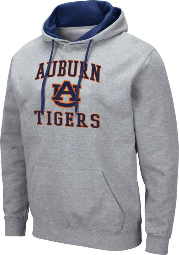 Colosseum Men's Auburn Tigers Grey Pullover Hoodie product image