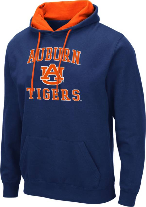 Colosseum Men's Auburn Tigers Blue Pullover Hoodie product image