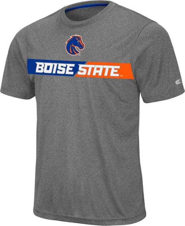 Colosseum Men's Boise State Broncos Grey Bait T-Shirt product image