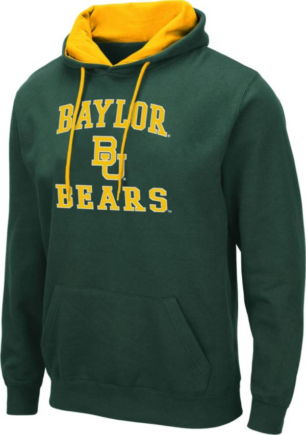 Colosseum Men's Baylor Bears Green Pullover Hoodie product image