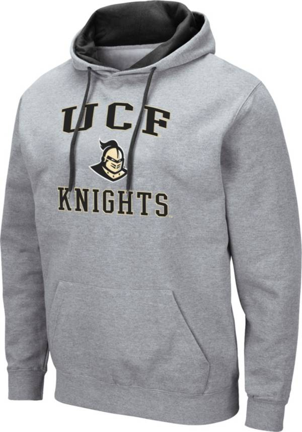 Colosseum Men's UCF Knights Grey Pullover Hoodie product image