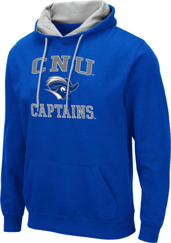 Colosseum Men's Christopher Newport Captains Royal Blue Pullover Hoodie product image