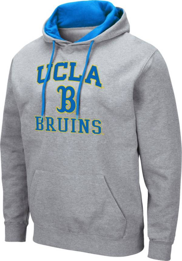 Colosseum Men's UCLA Bruins Grey Pullover Hoodie product image