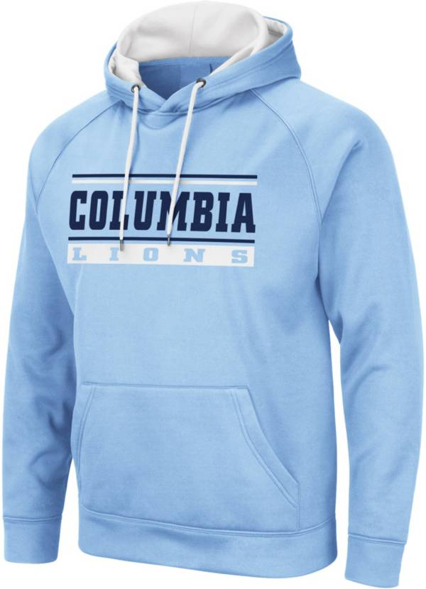 Colosseum Men's Columbia Lions Columbia Blue Pullover Hoodie product image