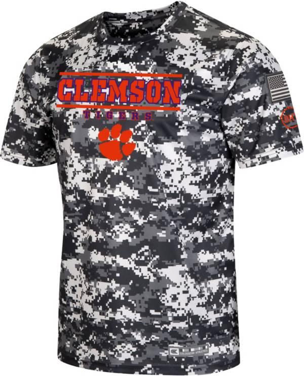 Colosseum Men's Clemson Tigers Camo OHT T-Shirt product image