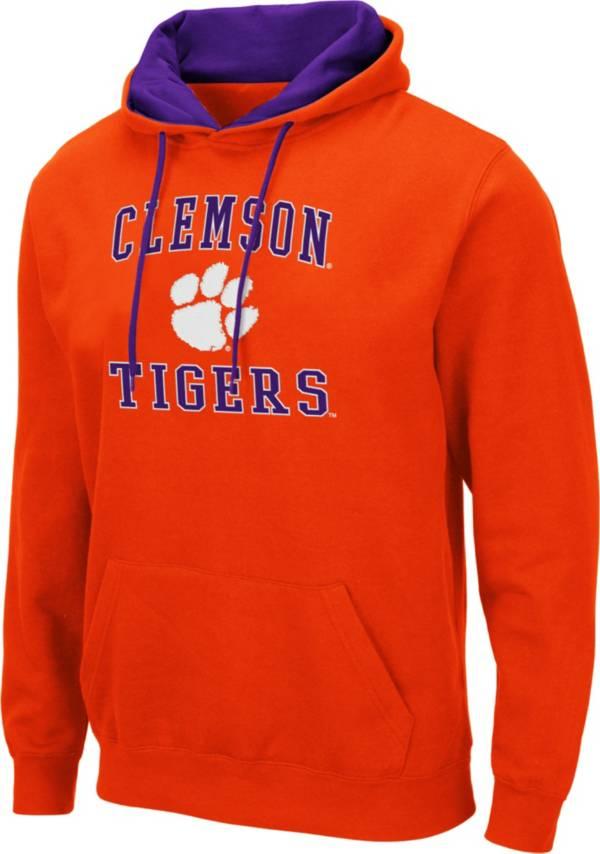 Colosseum Men's Clemson Tigers Orange Pullover Hoodie product image