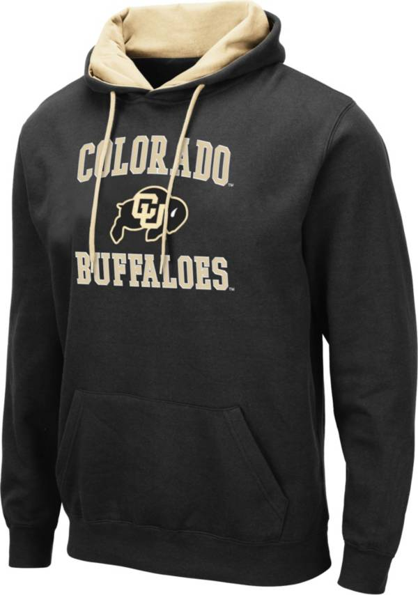 Colosseum Men's Colorado Buffaloes Pullover Black Hoodie product image