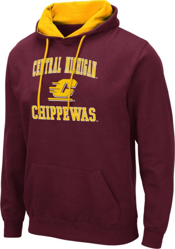 Colosseum Men's Central Michigan Chippewas Maroon Pullover Hoodie product image