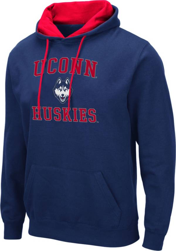 Colosseum Men's UConn Huskies Blue Pullover Hoodie product image