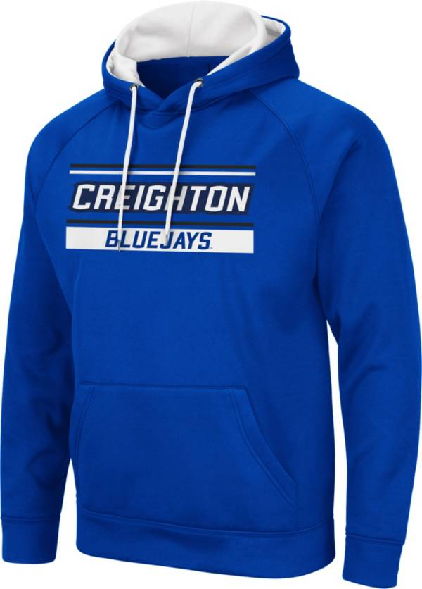 Colosseum Men's Creighton Bluejays Blue Pullover Hoodie product image