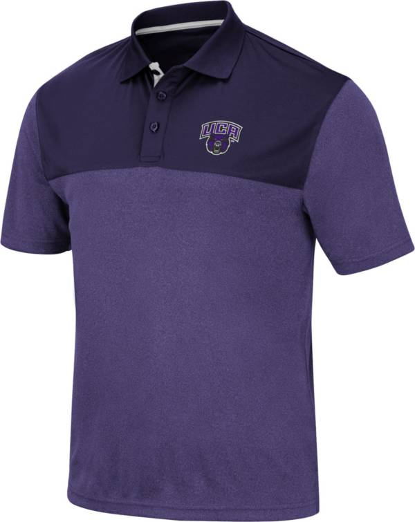 Colosseum Men's Central Arkansas Bears  Purple Links Polo product image