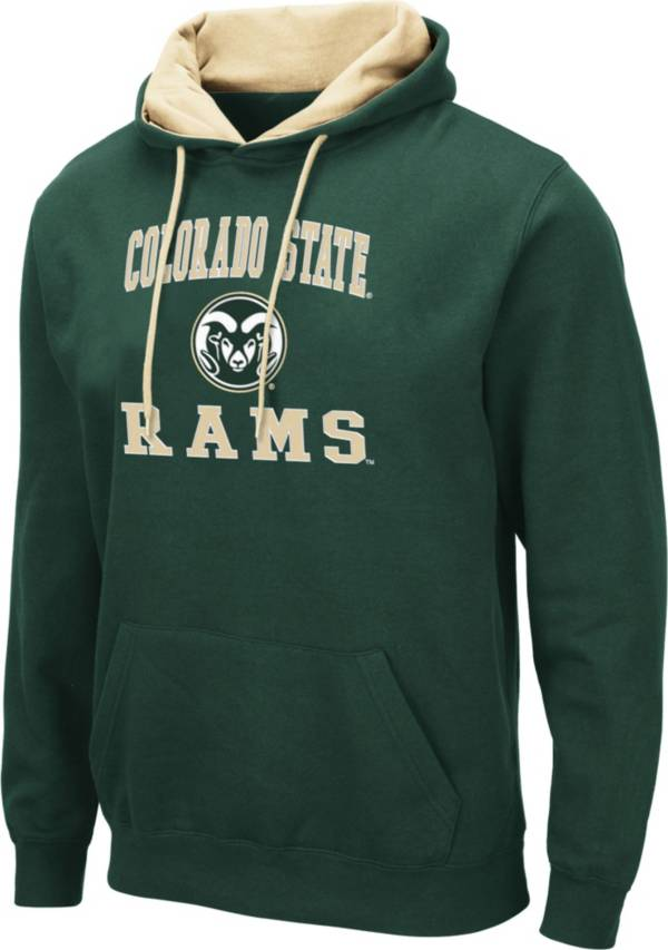 Colosseum Men's Colorado State Rams Green Pullover Hoodie product image