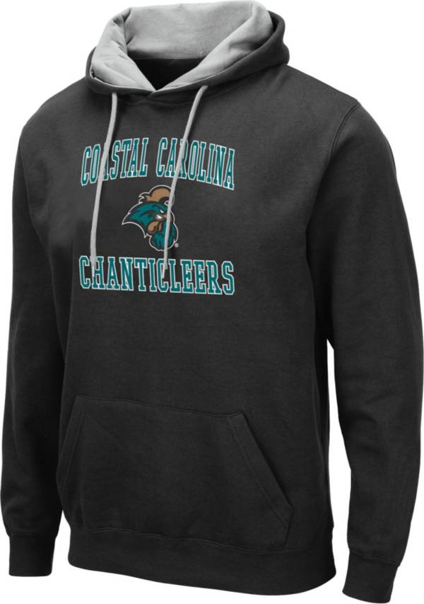 Colosseum Men's Coastal Carolina Chanticleers Pullover Black Hoodie product image