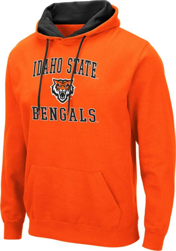 Colosseum Men's Idaho State Bengals Orange Pullover Hoodie product image