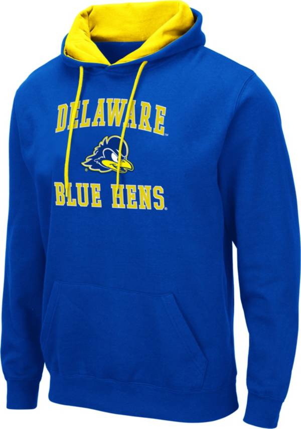 Colosseum Men's Delaware Fightin' Blue Hens Blue Pullover Hoodie product image